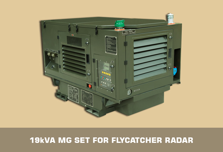 19kVA MG set for Radar