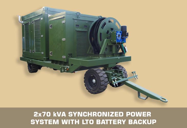 2x70 kVA PCU