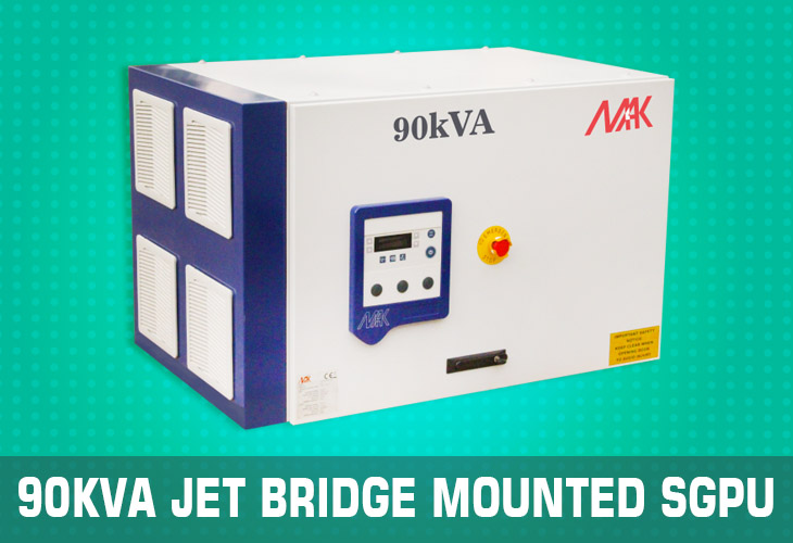 90kVA Jet bridge mounted sgpu