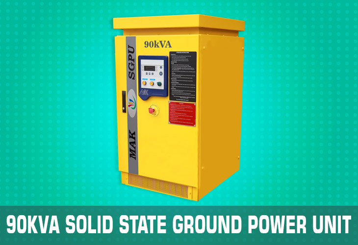 90kVA solid state ground power unit (sgpu)