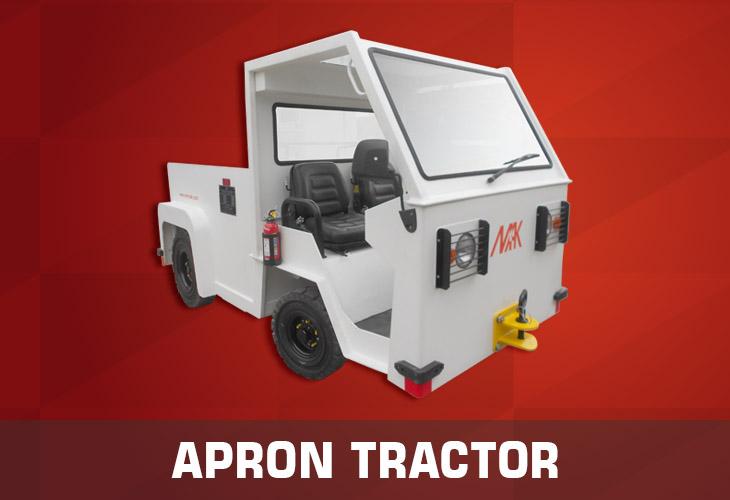 Apron Tractor model2