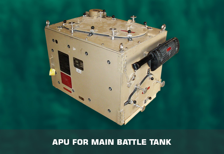 APU for main battle tank