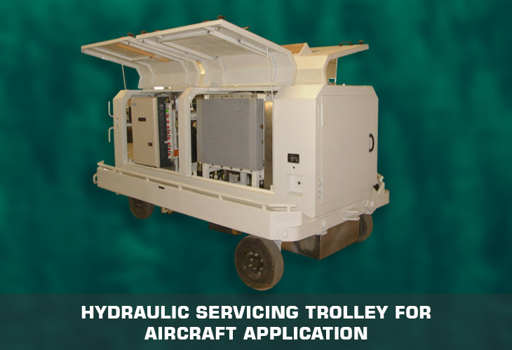 Hydraulic servicing Trolley