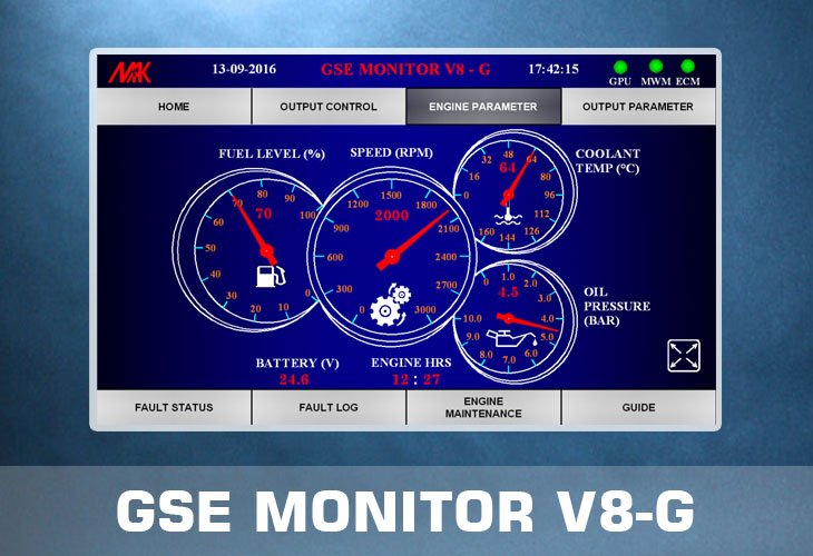 GSE Monitor Screen