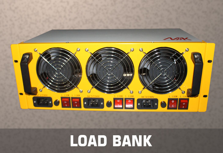 Load bank manufacturers