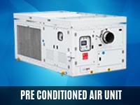 Pre Contioned Air Unit