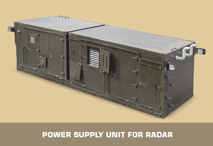 Power Supply Unit for Radar