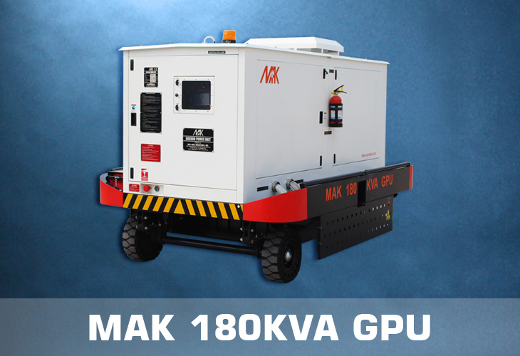 MAK 180 KVA Ground Power Unit