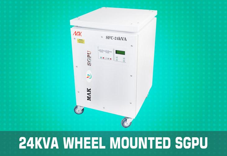 24kVA wheel mounted sgpu