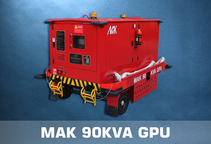 MAK 90 KVA Ground Power Unit