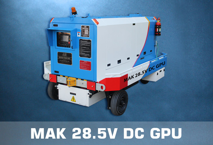 MAK 28.5V DC Ground Power Unit