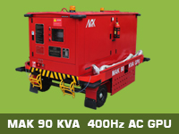 90KVA GPU200x150 - GSE for Aviation
